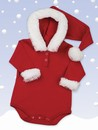 Hooded Santa Onesie